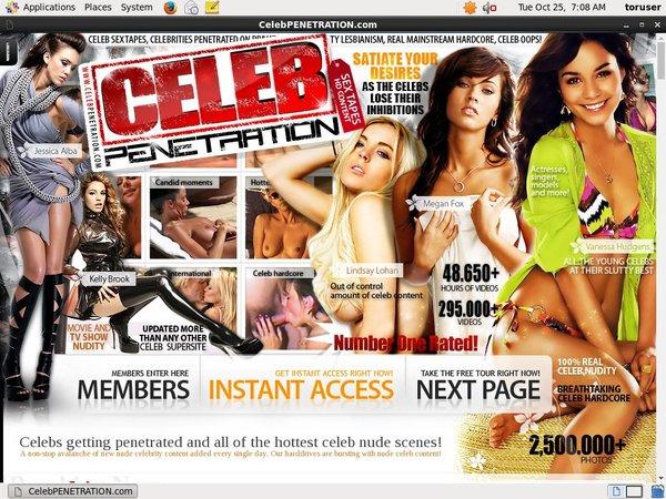 Celeb Penetration Free Acc