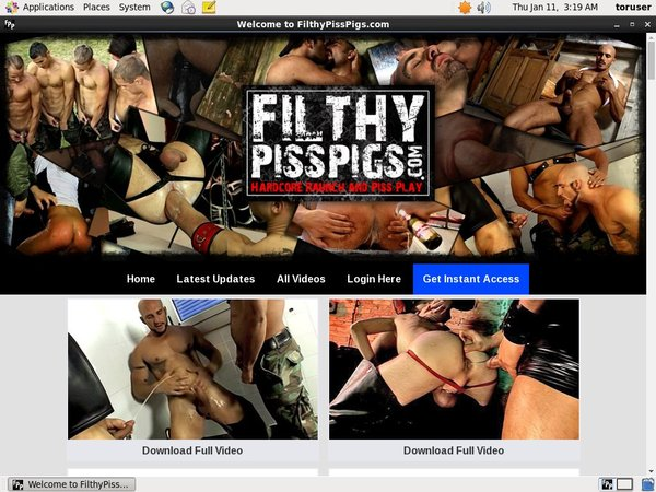 Filthy Piss Pigs Password Bugmenot