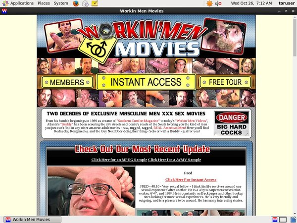 Free Workinmenmovies.com Clips