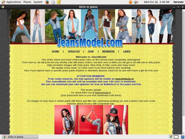 Jeans Model Premium Login