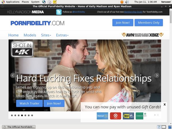 Porn Fidelity Account For Free