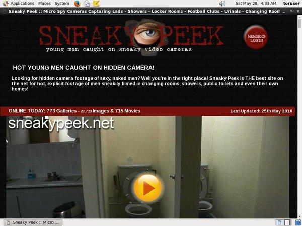 Sneakypeek.net With Webbilling.com
