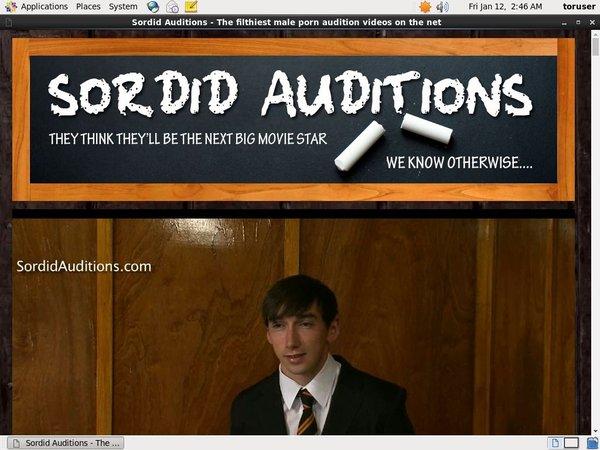 Sordid Auditions V2 Special Deal
