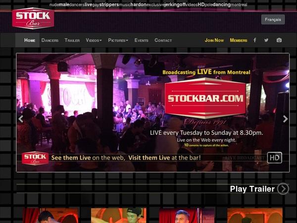 Stockbar Full Website
