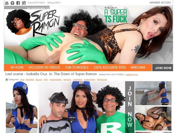 Super Ramon Free Login