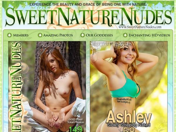 Sweet Nature Nudes Member Discount
