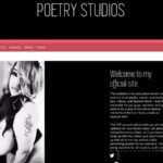 POETRYSTUDIOS Signup Page