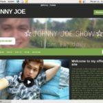 JOHNNY JOE Website Password