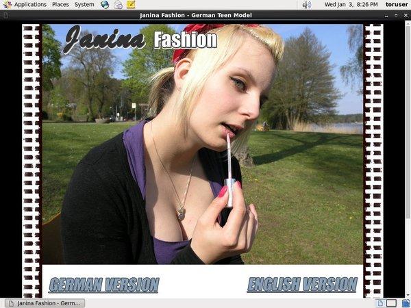 Janina Fashion Join With Phone