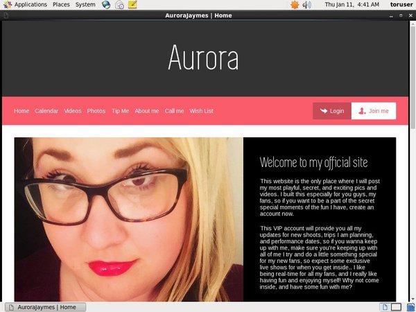 Aura Jaymes Login Account