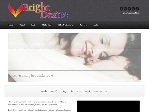 Bright Desire Accounts