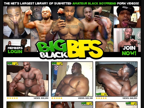 Big Black BFs Guys