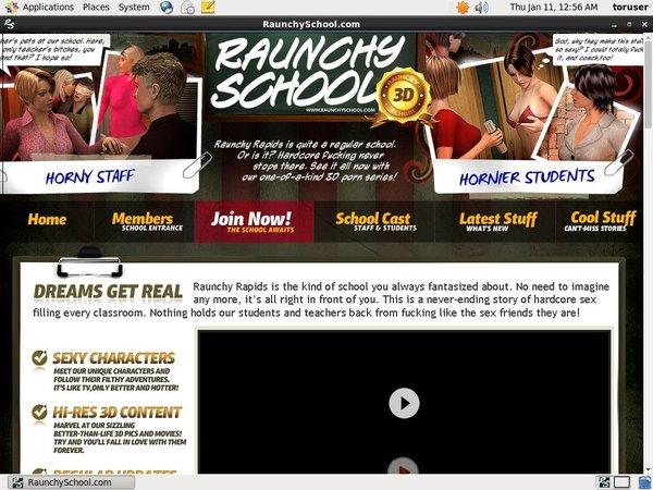 Raunchy School Membership Account