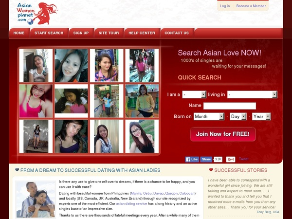 Asian Women Planet Sign In
