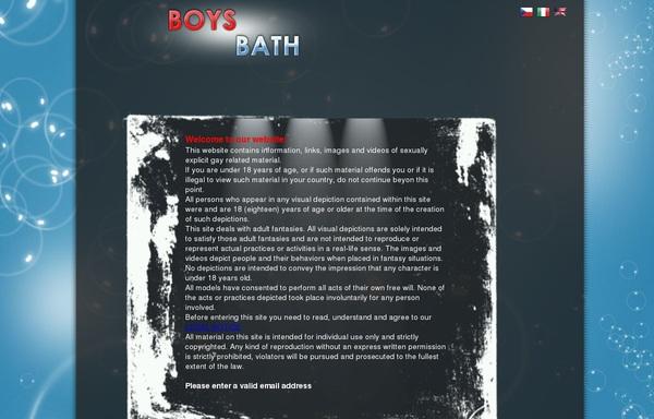 Boys Bath 사다