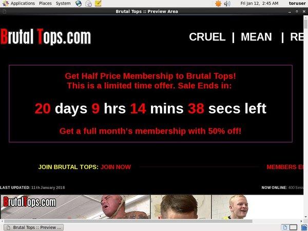 Brutaltops.com Free Passes
