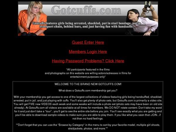 Gotcuffs.com Full Videos