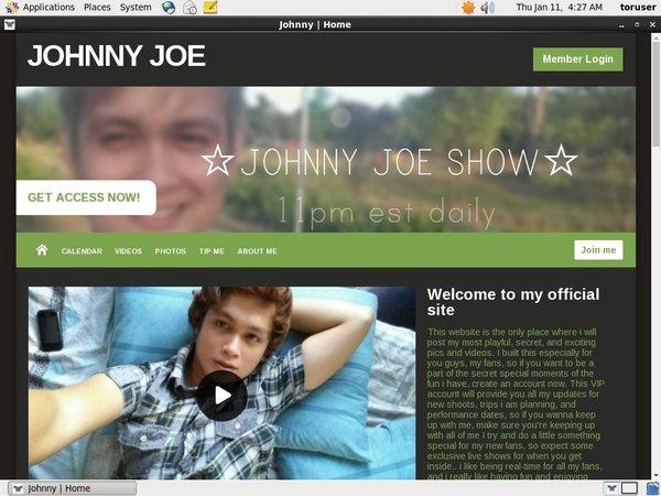 Account For Johnnyjoe.modelcentro.com