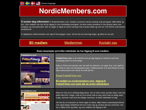 Nordic Members Valid Password