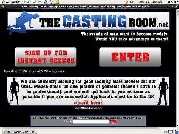 Thecastingroom Valid Account