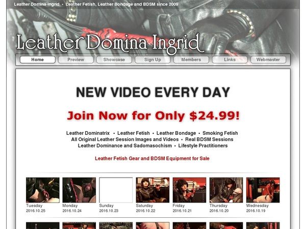 Leatherdominaingrid Buy Membership