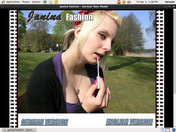 Premium Account Janina Fashion
