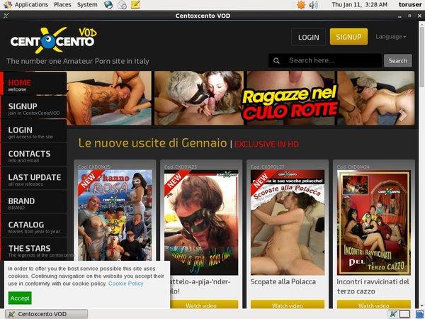 Centoxcentovod.com Porn Site