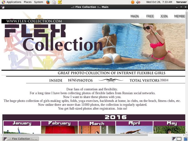 Flex Collection Free Member