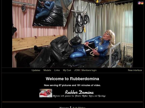 Rubberdomina.club Freies Konto